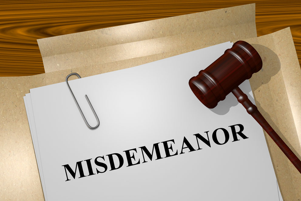 Misdemeanor-concept